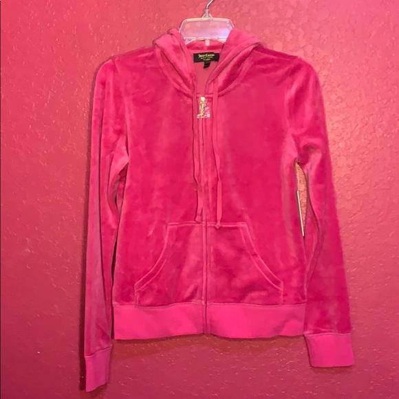 1d3993af Juicy Couture Jackets & Coats | Pink Velour Robertson Jacket | Poshmark
